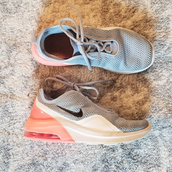 NIKE AIR GOOD COND. PINK BLUE WHT SNEAKERS BUBBLES
